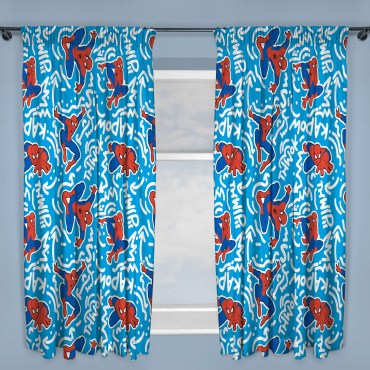 SPI366_Spiderman_Popart_Curtains_ae1