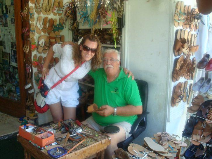 U Kapriju sa poznatim obućarem Antonijom Viva