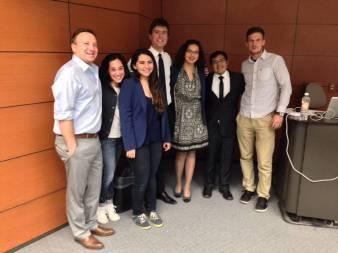 Organizatori projekcije na institutu Tec de Monterrey u Meksiko Sitiju