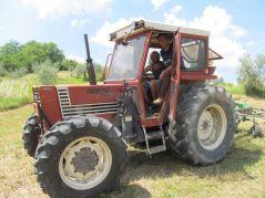 Fotografisanje u traktoru