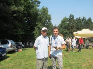 Sa gospodinom Bušrom na Rajcu