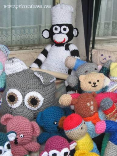 Majmunče kuvar bilo je maskota na Danima banice u Beloj Palanci