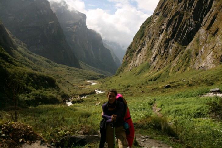 Milena na Himalajima, Nepal