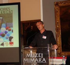 Nikola predstavlja muzejski program na ICME konferenciji u Zagrebu