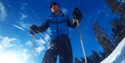 Nikola sa porodicom živi na Zlatiboru, pa mi je poslao jednu fotografiju sa te planine