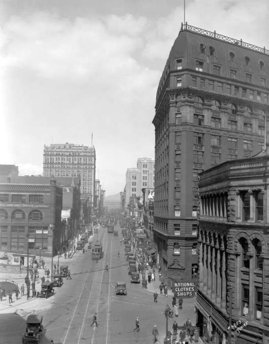 Marine Building before