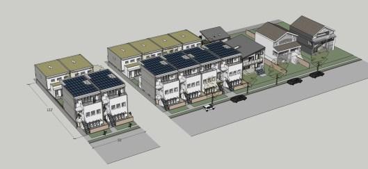 50' subdiv - rowhouse 25x122