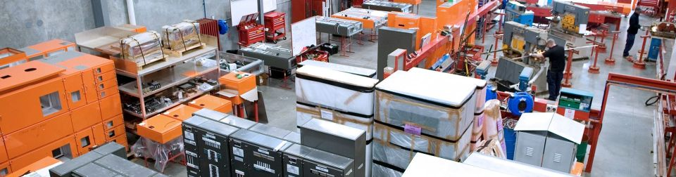 manufacturing floor at price trandos engineering