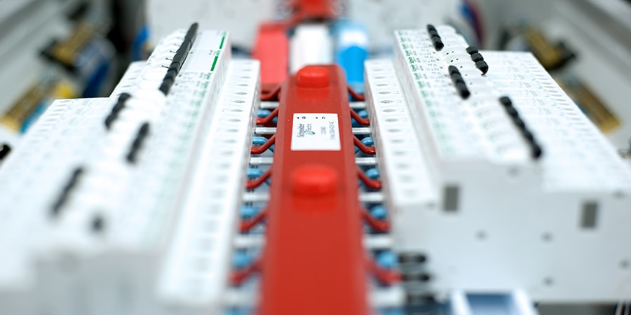 fixing a switchboard