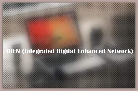 iDEN (Integrated Digital Enhanced Network)