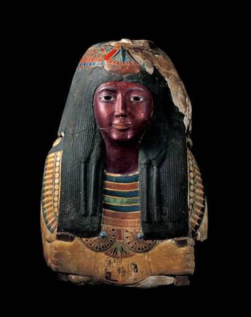 Прическа Древнего Египта. Декоративной косметикой в ...
