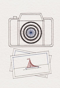 Camera pattern added at Stitching Cards