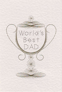 Father's Day pattern added at Stitching Cards