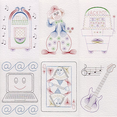 Leisure patterns added at Stitching Cards