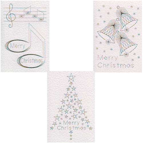 Christmas stitching patterns added at Form-A-Lines