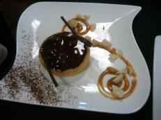 Chocolate Macadamia Tart
