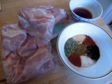 Chicken Thighs & Chorizo Spices