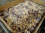 Add chopped hazelnuts