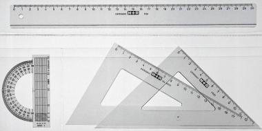 regla escuadra cartabon transportador