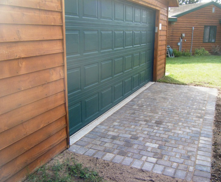 Easy Paver Patio