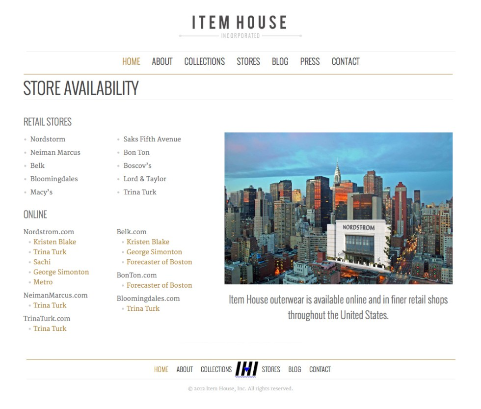 Item House Stores