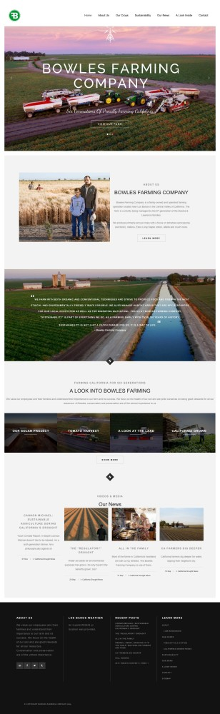Bowles Farm Homepage