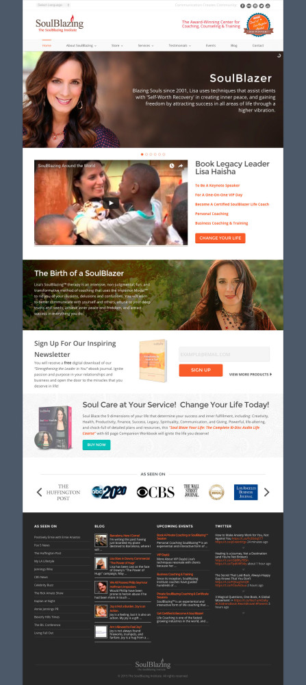 SoulBlazing Institute Homepage