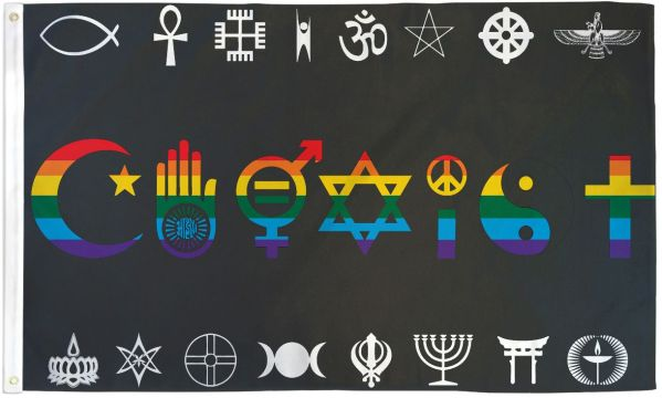 Coexist Flag