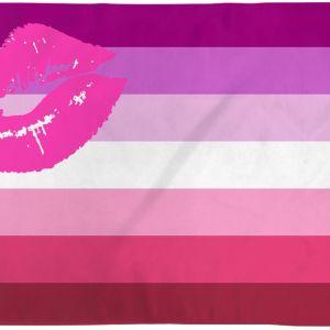 Lipstick Lesbian Pride Flag