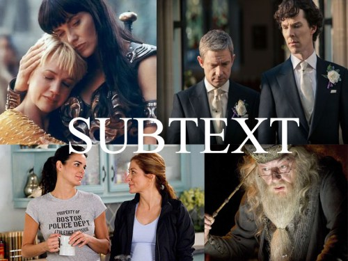Subtext Collage