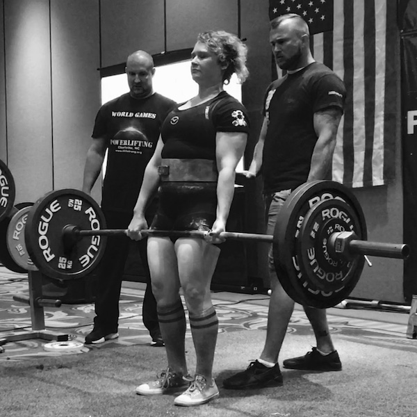 Pride Conditioning gym charlotte tara lupe deadlift powerlifting