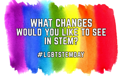 Pride in STEM needs your opinions for this LGBTSTEM Day
