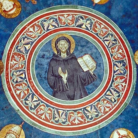 Saint Benoît, fresque de Subiaco