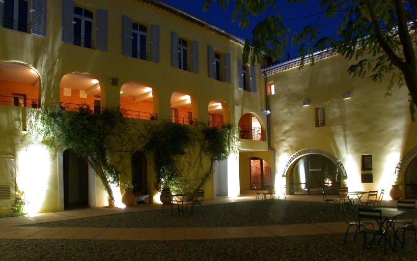 Le prieuré la nuit