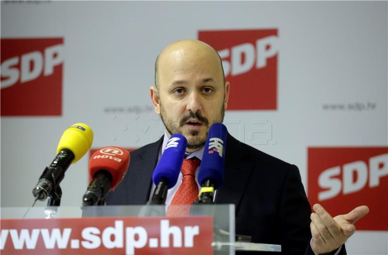 SDP iz stranke isključio četvero saborskih zastupnika i Marasa