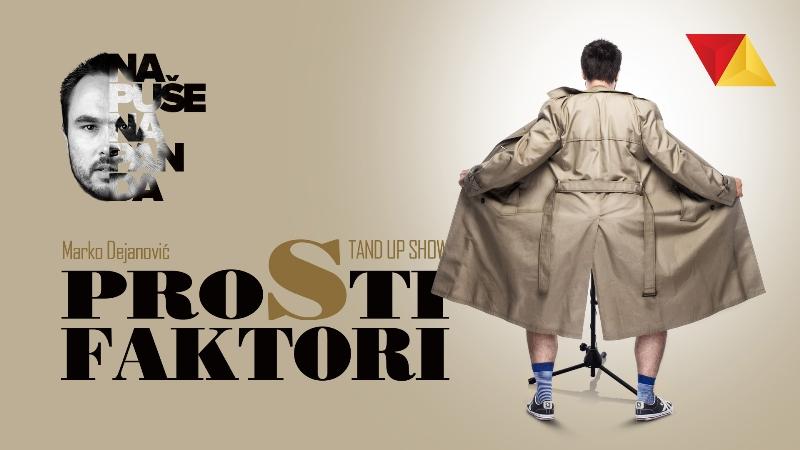 """KARTE SU RAZGRABLJENE  Stand up komedija """"Prosti faktori"""" na 15. Culture Shock Festivalu izazvala ogroman interes"""