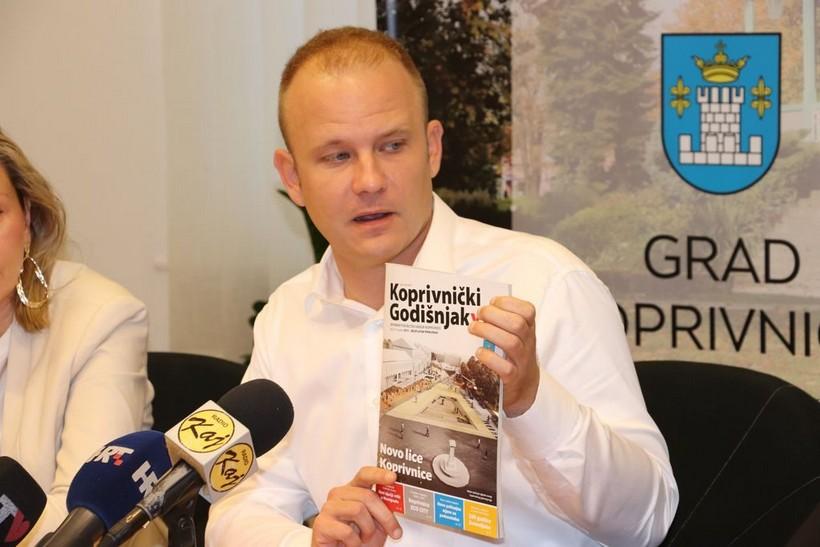 Predstavili novi Koprivnički godišnjak: 'Lijepo je na kraju godine napraviti jedan zaključak svega što se radilo'