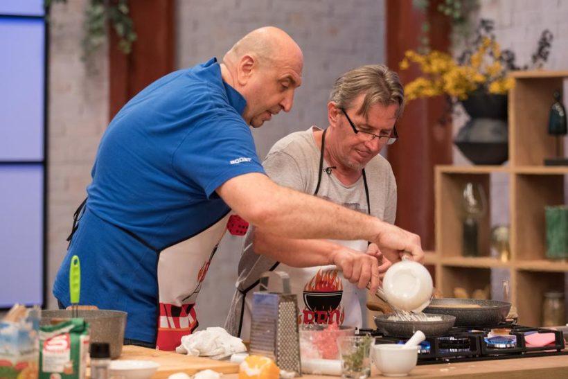 Poznati voditelj Dražen Kocijan okušao se u kuhanju u popularnoj kulinarskoj emisiji
