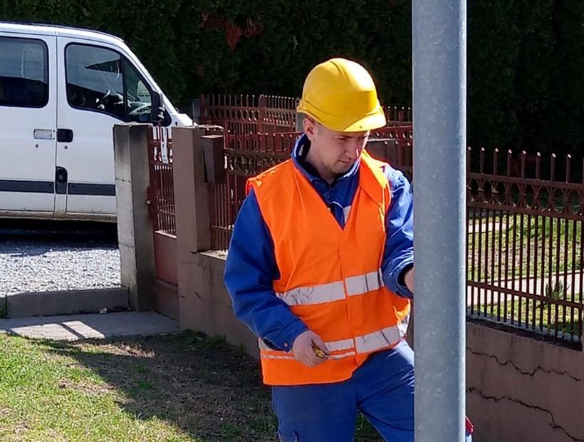 Krenuli radovi na novoj LED javnoj rasvjeti u Đurđevcu vrijedni 3 milijuna kuna