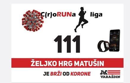 ATLETIKA – C(r)oRUNa liga: Virtualnim trčanjem protiv koronavirusa