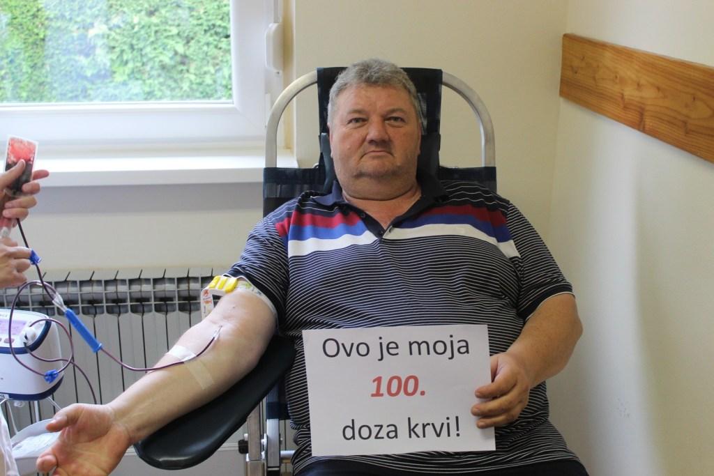Koprivnica: Prikupljeno 237 doza krvi, petero osoba ušlo u Klub 100