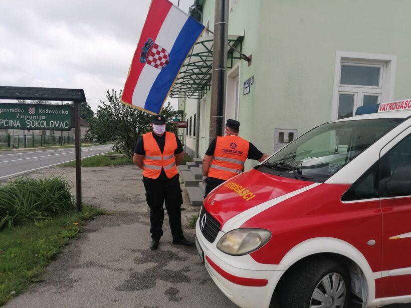 Vatrogasci iz Sokolovca odradili ogroman posao u borbi protiv korona virusa