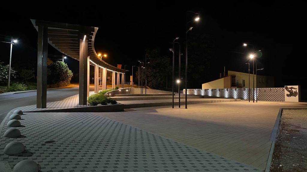 Noćni prizori iz središta Kalnika