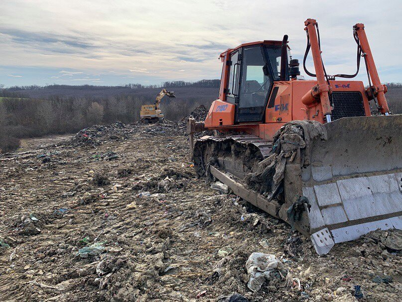 Uskoro će završiti radovi na sanaciji odlagališta otpada Trema Gmanje