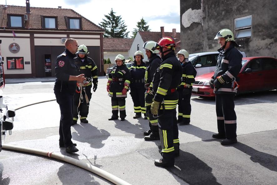 🖼️ Koprivnica   Nastavljeno osposobljavanje za vatrogasne dočasnike