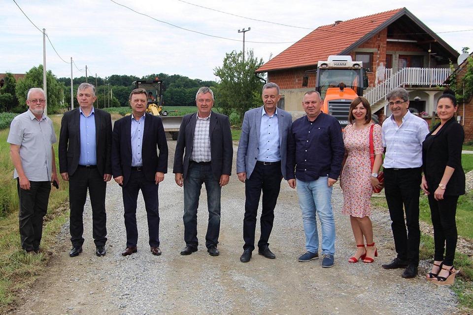 Obnovljena kompletna dionica ceste od Kloštra Podravskog do Kozarevca u dužini od šest kilometara