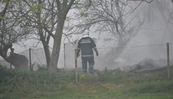 Dvoje maloljetnika izazvalo požar, izgorjelo osam hektara slame i pšenice