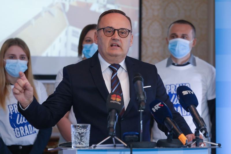 Mlinarević: Promjena vlasti i modela upravljanja gradom za bolju budućnost Osječana