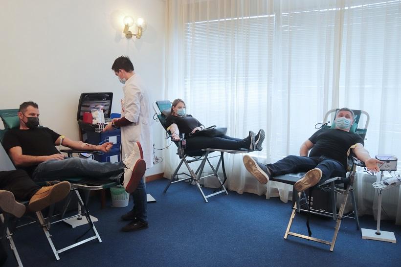 U četvrtak i petak akcija dobrovoljnog darivanja krvi u Križevcima