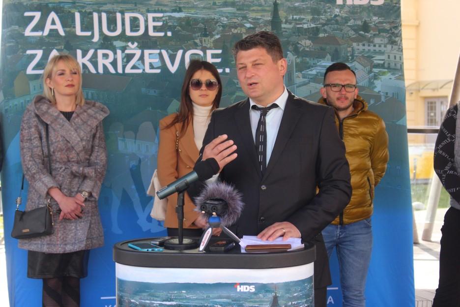 Denis Maksić (HDS) kandidat za zamjenika gradonačelnika Križevaca
